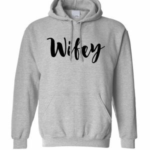 Wifey Custom Made Hoodie